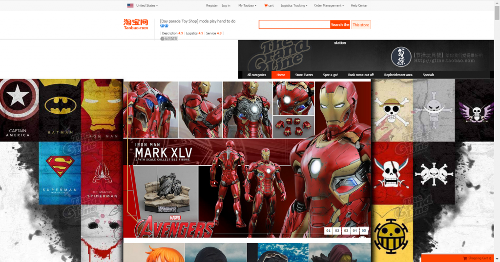 collectible superhero figurines
