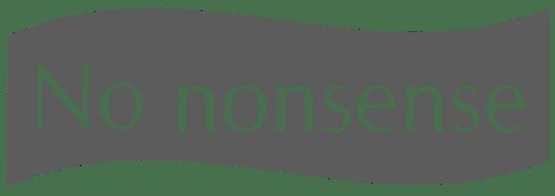 No Nonsense Logo
