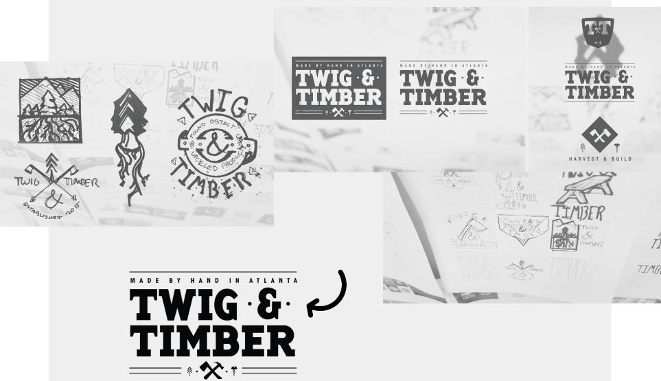Twig and Timber Branding